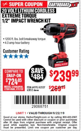 Harbor Freight Digital Savings