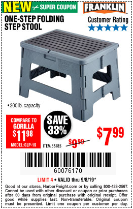 Marvelous Only 7 99 For A Five Star Franklin Folding Step Stool Uwap Interior Chair Design Uwaporg
