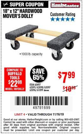 1000 Lbs Capacity Hardwood