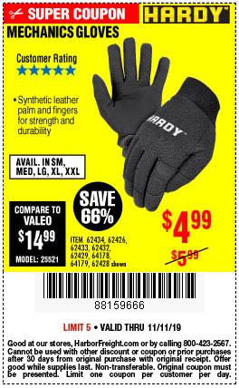 Mechanic's Gloves X-Large
