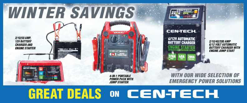 Great Deals on Cen-Tech!