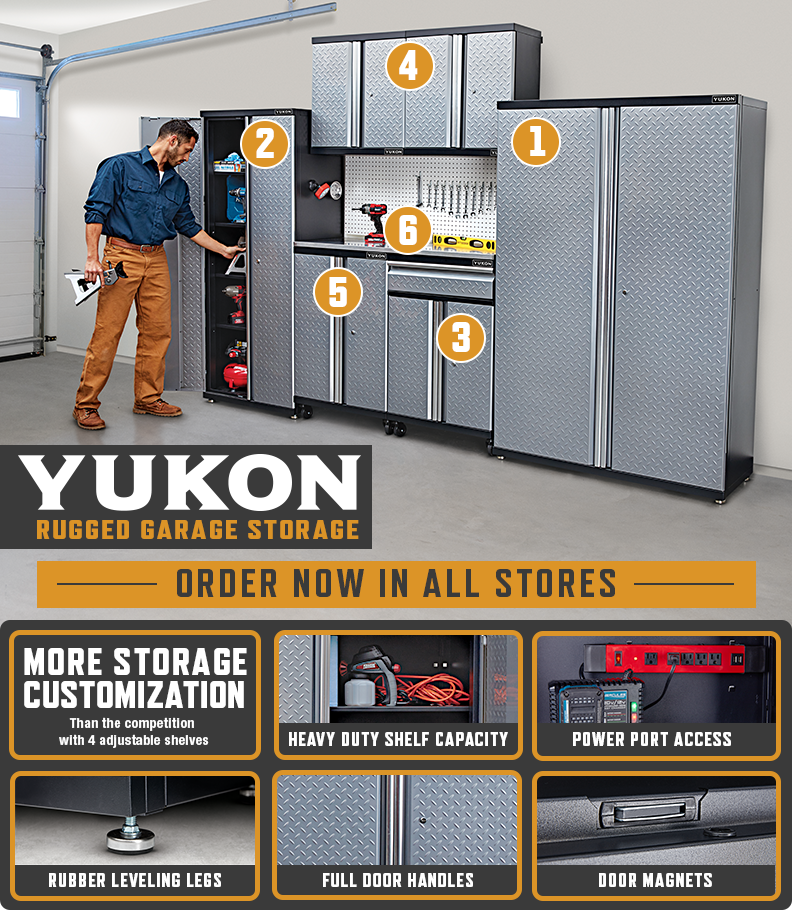 NEW Yukon Garage Storage! – Harbor Freight Coupons