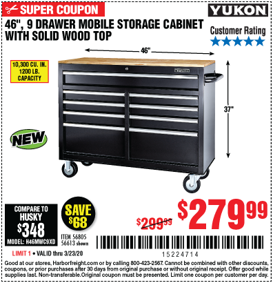 Great Deals On Yukon Storage Cabinets Harbor Freight
