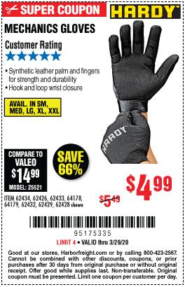 Mechanics Gloves X-Large