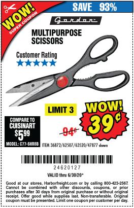 Gorden Multipurpose Scissors