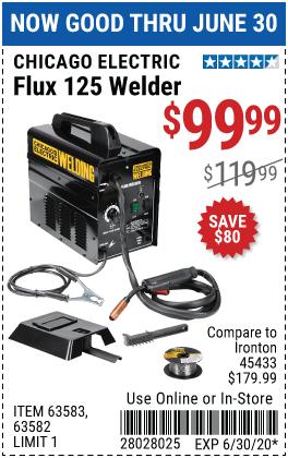 FLUX 125 WELDER