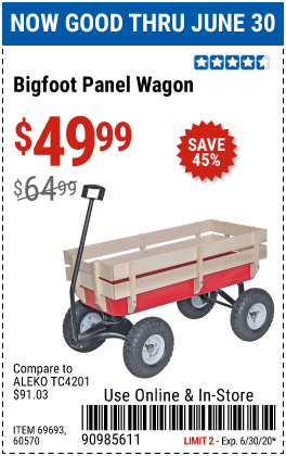 Bigfoot Panel Wagon