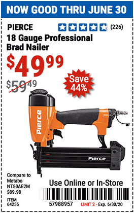 18 Gauge Professional Brad Nailer