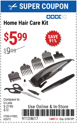 Home Hair Care Kit