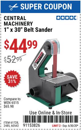 1 in. x 30 in. Belt Sander