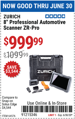 ZR-PRO Professional Automotive Scanner
