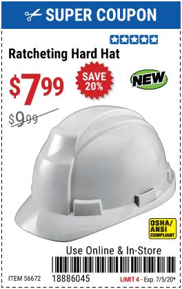 Ratcheting Hard Hat