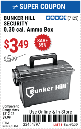 0.30 Caliber Ammo Box