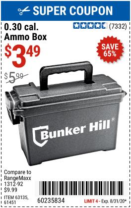 0.30 Caliber Ammo Box