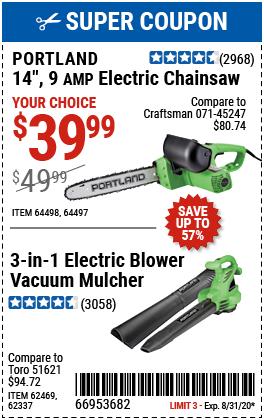 3-In-1 Corded Electric Blower Vacuum Mulcher