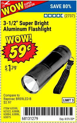 3-1/2 in. LED Mini Flashlight