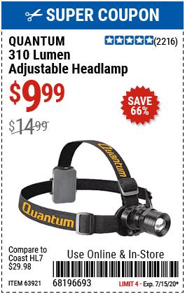 310 Lumen Headlamp