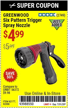Trigger Spray Nozzle