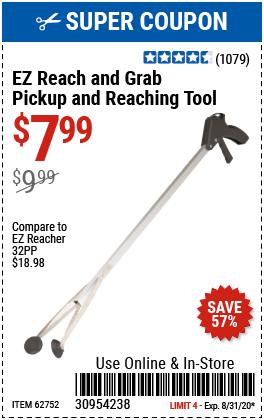 EZ Reach & Grab Pickup and Reaching Tool
