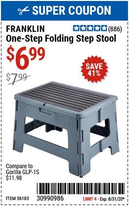 One-Step Folding Stool