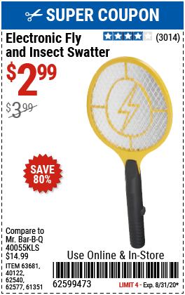 Electronic Fly & Insect Swatter
