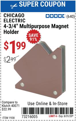 4-3/4 in. Multipurpose Magnet Holder