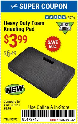 Heavy Duty Foam Kneeling Pad