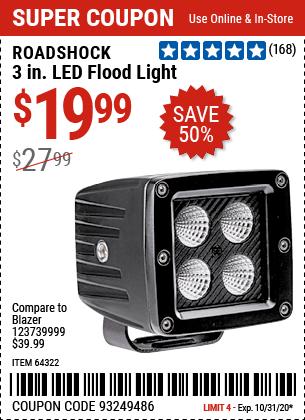 3 in. LED Flood Light