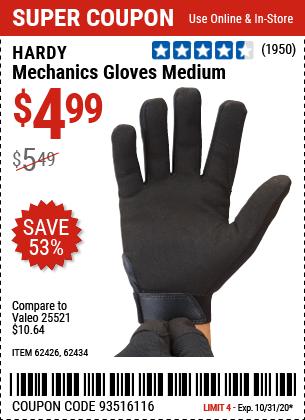 Mechanics Gloves Medium