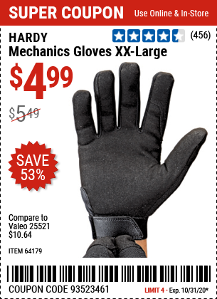 Mechanics Gloves XX-Large