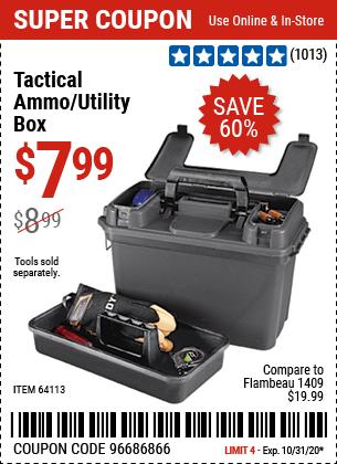 Tactical Ammo/Utility Box