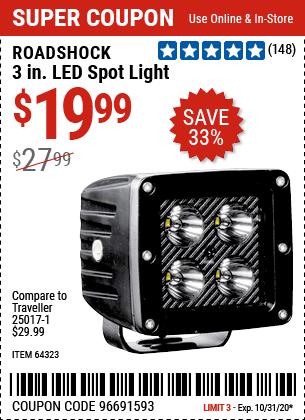 3 in. LED Spot Light