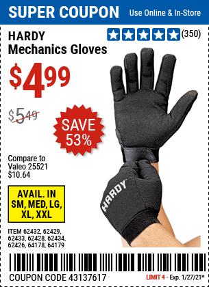 Mechanics Gloves X Large