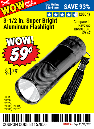 3-1/2 in. LED Mini Flashlight