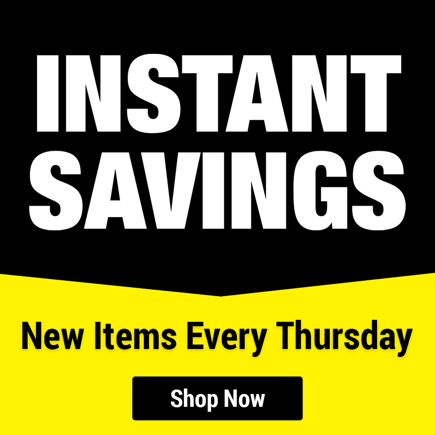 Instant Savings and Sales at Harbor Freight