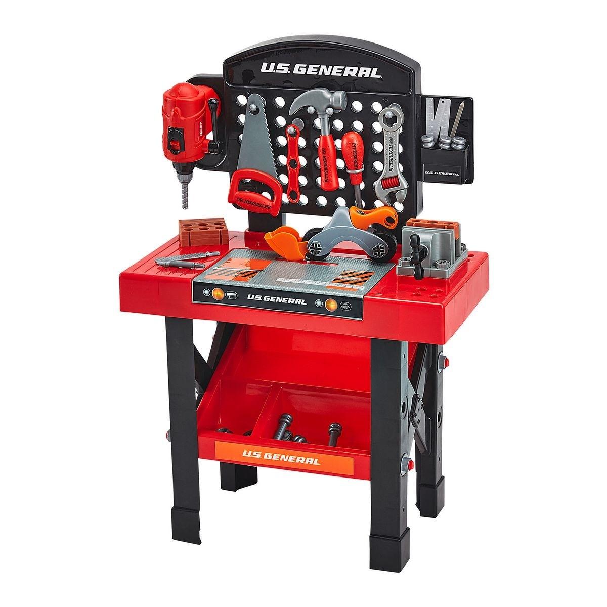 U.S. GENERAL JUNIOR Toy Workbench - Item 56515
