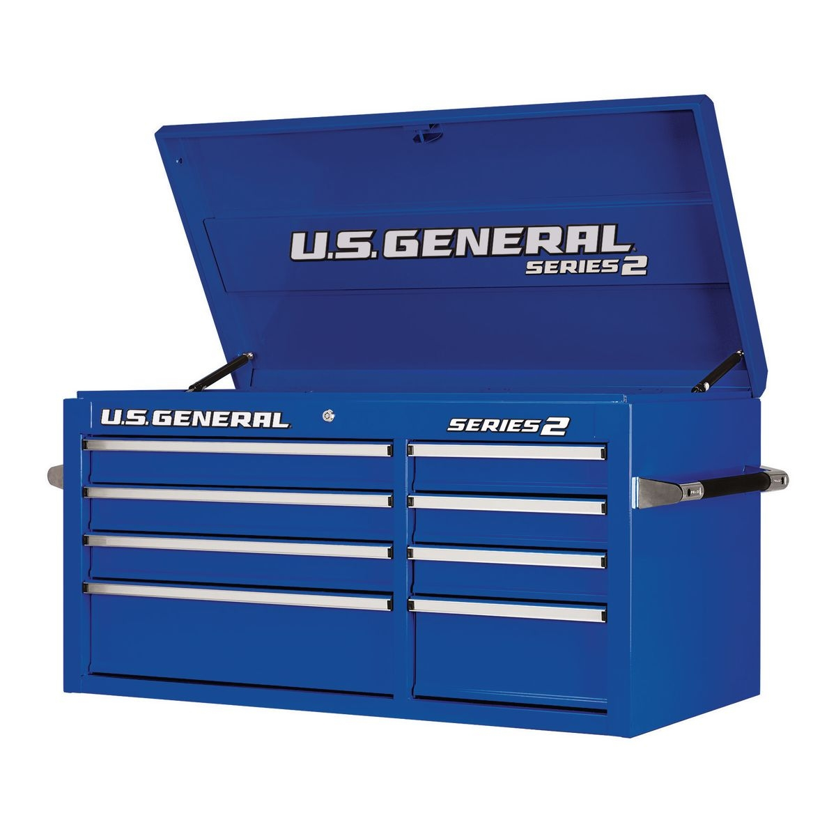 U.S. GENERAL 44 in. Double Bank Blue Top Chest - Item 64440 / 64438 / 64439