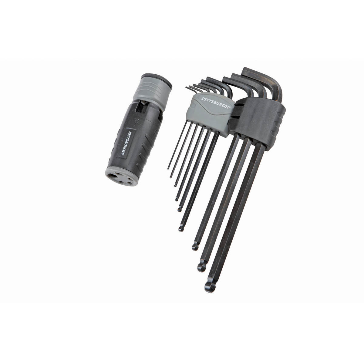 PITTSBURGH Metric Hex Key System 9 Pc. - Item 69084 / 95037