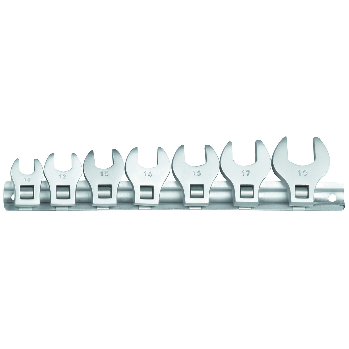 PITTSBURGH 3/8 in. SAE Crowfoot Wrench Set 7 Pc. - Item 94426
