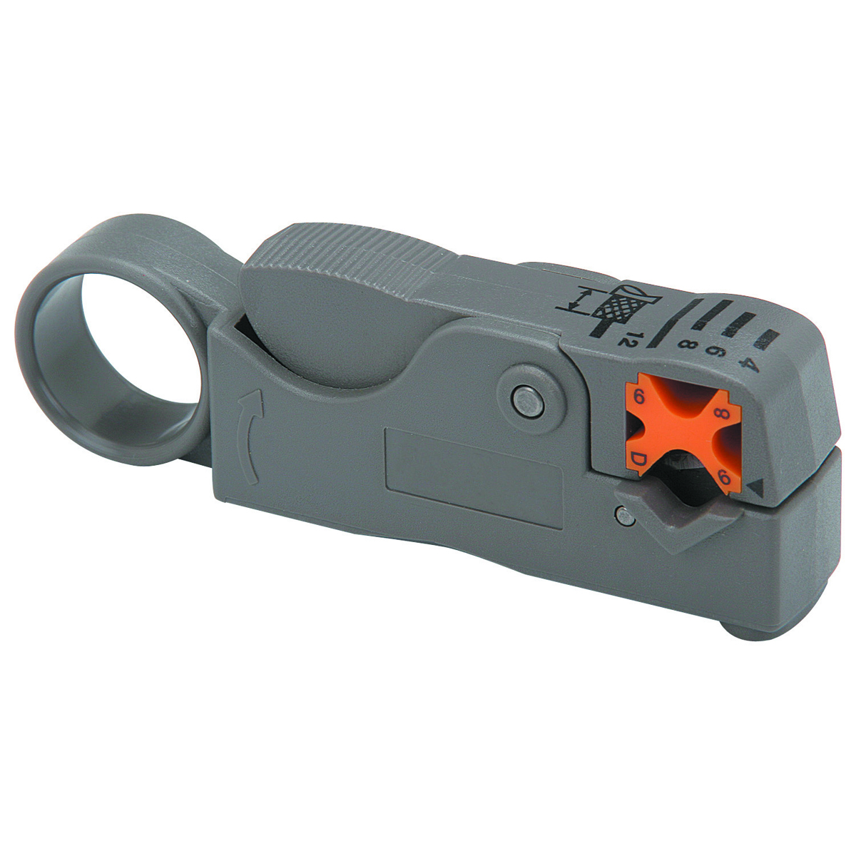 PITTSBURGH Rotary Coaxial Cable Stripper - Item 98953