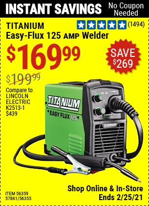 Easy-Flux 125 Amp Welder
