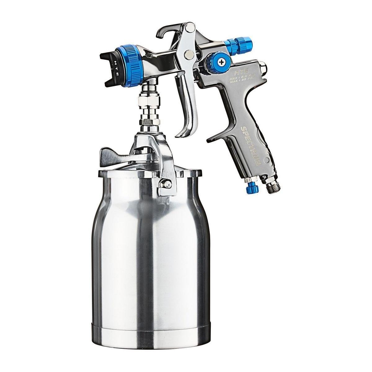 SPECTRUM 32 Oz. Professional HTE Compliant Siphon Air Spray Gun – Item 56338