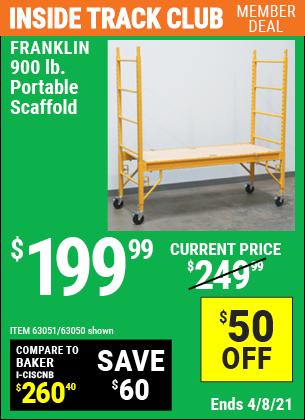 900 lb. Portable Scaffold