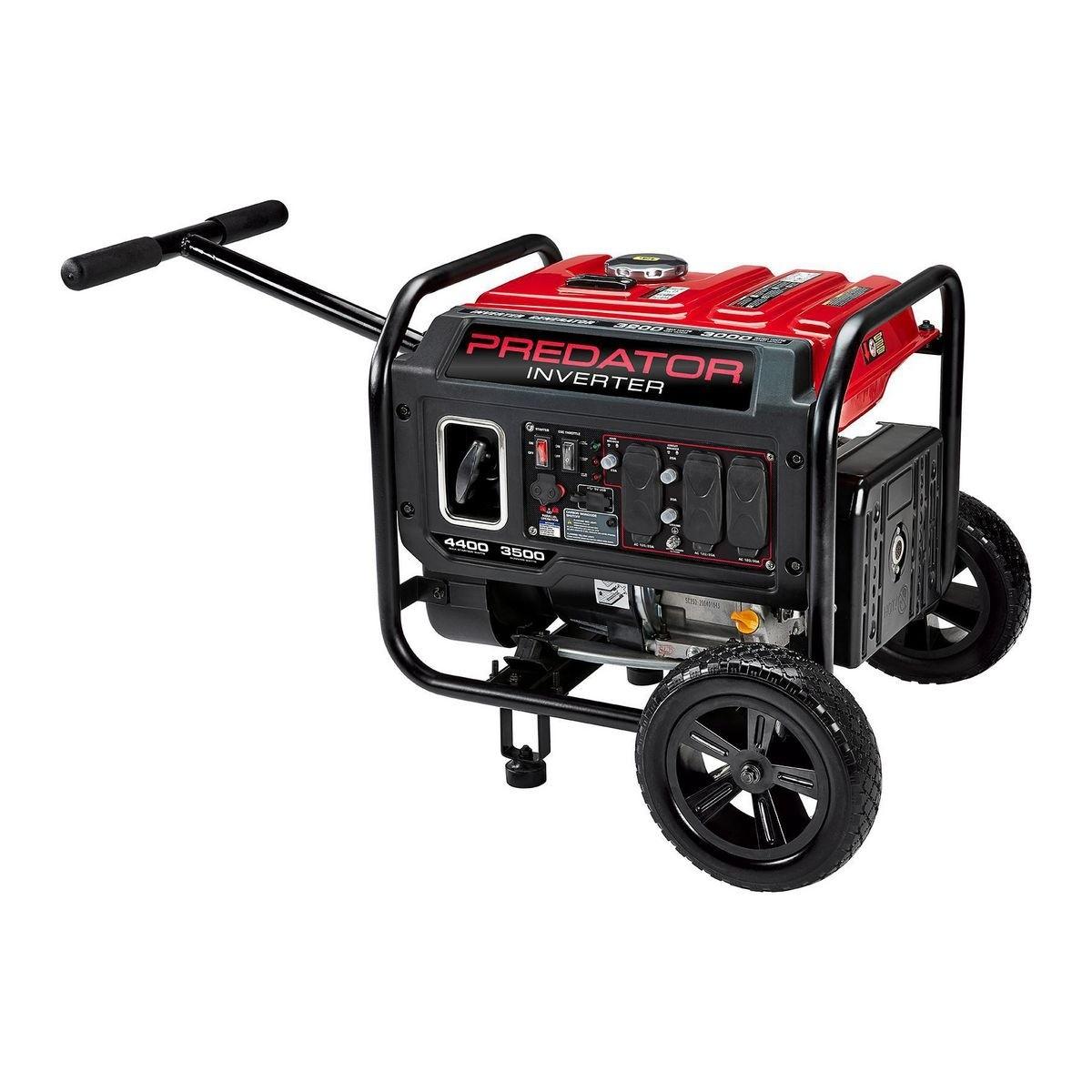 PREDATOR 4400 Watt Inverter Generator With CO SECURE™ - EPA III – Item 57509
