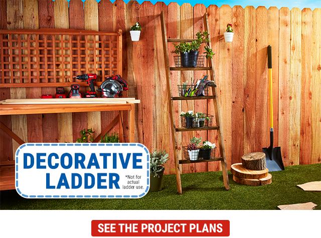 HFT Home Decorative Ladder